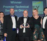 PTSG was crowned fast growth business of the year at the British Masters Awards 2017