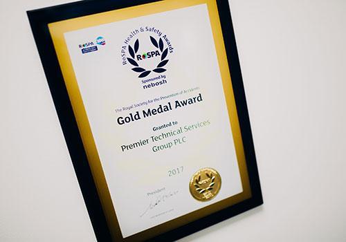 rospa-gold-medal