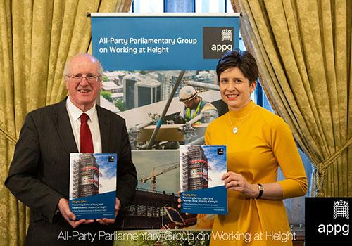 PTSG attends parliamentary group reception on working at height