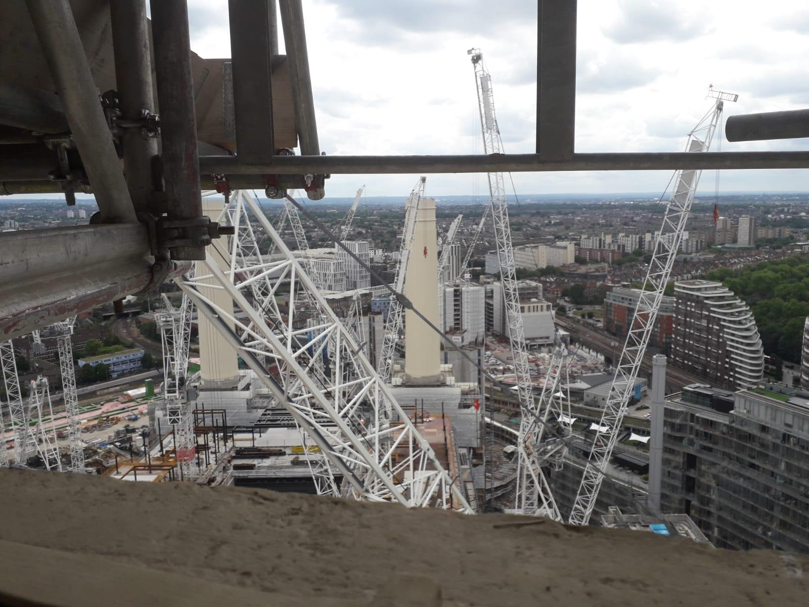 PTSG reaches milestone at Battersea Power Station
