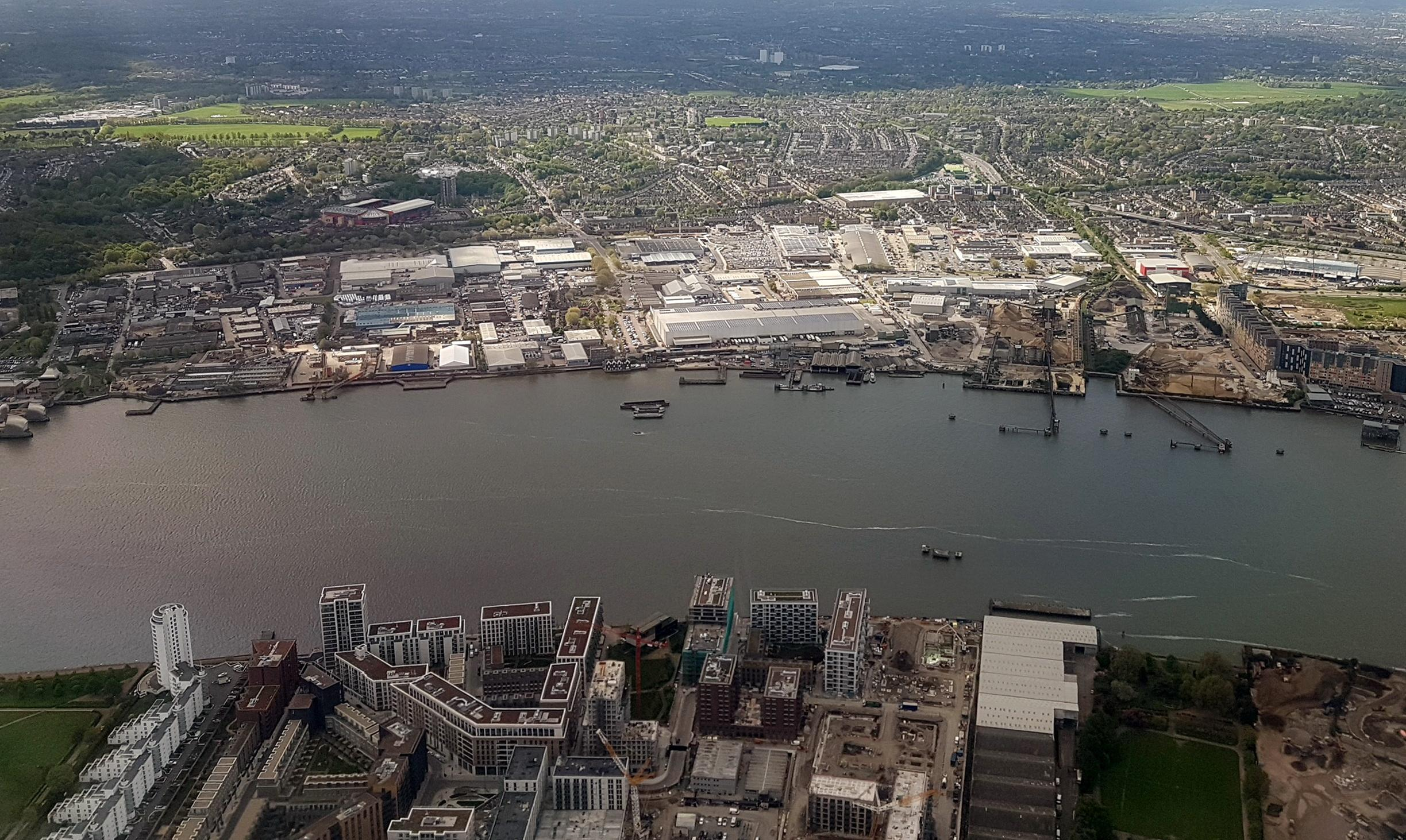 PTSG works at new waterside town in London