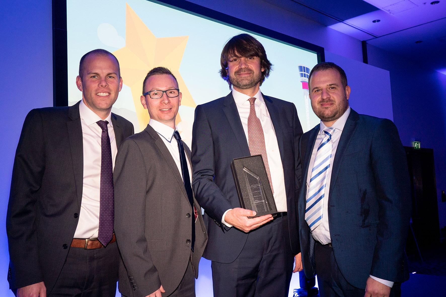 PTSG wins at Team Heathrow Health & Safety Awards