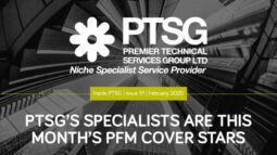 PTSG'S SPECIALISTS ARE THIS MONTH'S PFM COVER STARS