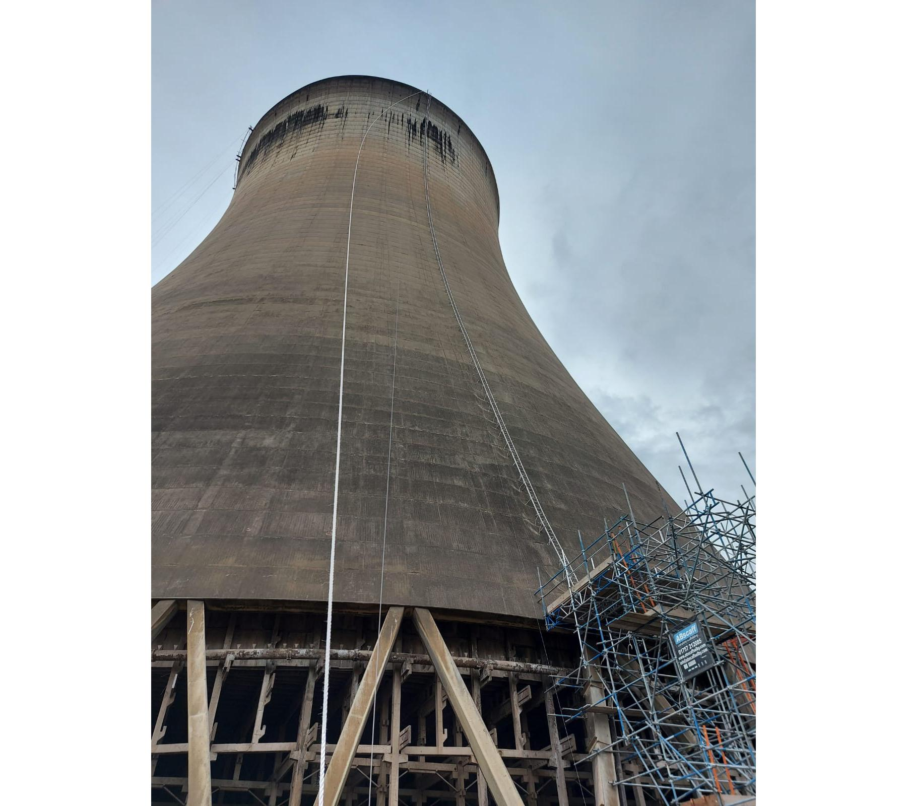 PTSG's steeplejacks complete project for Drax Power Ltd