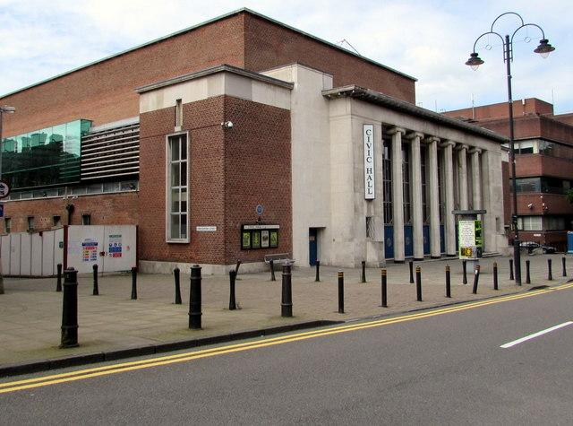 PTSG takes supporting role at Wolverhampton Civic Hall