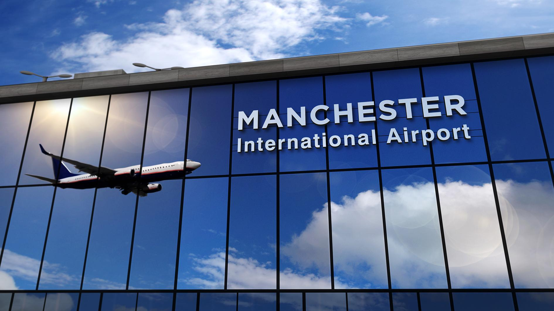PTSG flies back to Manchester Airport