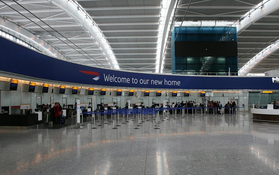 PTSG's high-flying teams praised at Heathrow